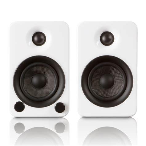 yu3 powered bookshelf speakers kanto touch