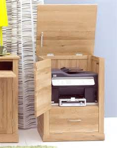 Printer Storage Cabinet Nara Solid Oak Office Computer Desk Furniture Printer Storage Cupboard Cabinet Ebay