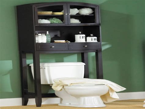 black over the toilet cabinet black wooden bathroom cabinet with double doors and double