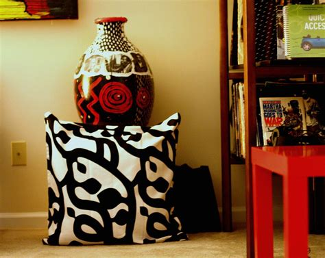 african home decor catalog african inspired accessories with modern graphic pattern