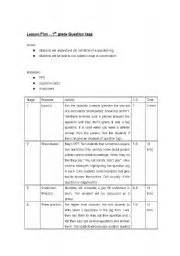 lesson plan for teaching question tags teaching worksheets lesson plans