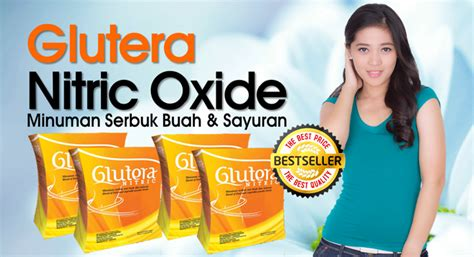 Glutera Nitric Oxide Fiber Diet Sehat agen nitric oxide asli stockist resmi glutera