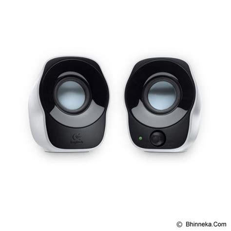 Speaker Computer Basic 2 0 by Jual Logitech 2 0 Speaker Z120 980 000514 Murah