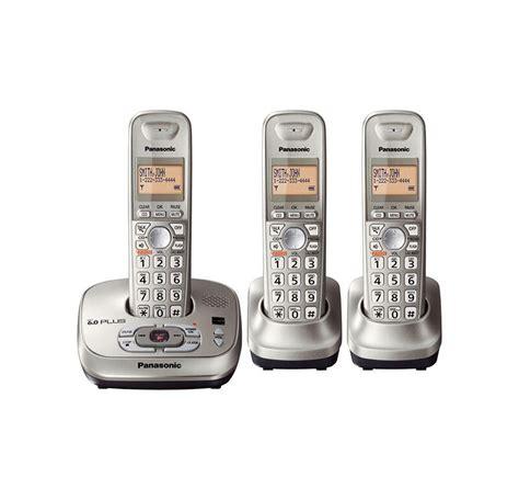top  panasonic cordless telephones  answering system ebay