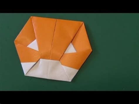 How To Make Origami Gloves - グローブ 使える折り紙 glove origami