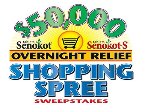 Senokot Sweepstakes - senokot 174 overnight relief shopping spree sweepstakes giveaway now closed first