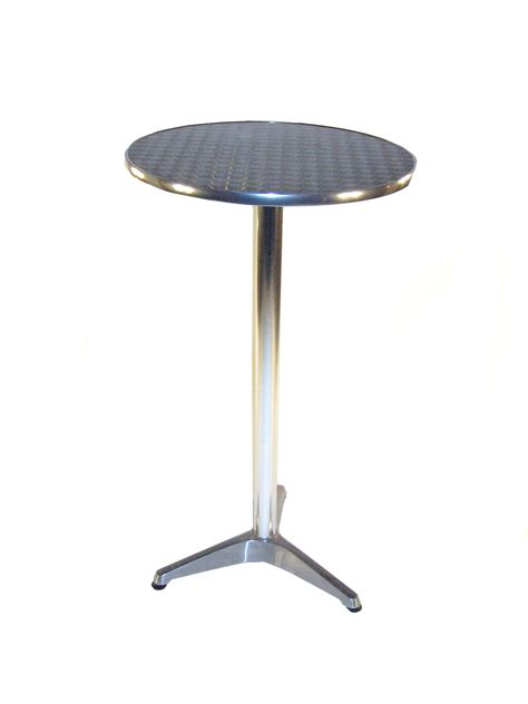 Aluminium Bar Table Aluminium High Table Bars Events Trade Stand Tables Be Event Hire