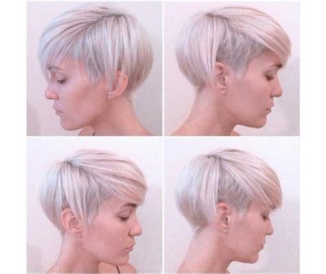 blond frisyr 2016 kr 243 tkie fryzury 2016 z grzywką asymetryczne undercut