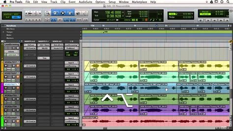 Create A Template Vocal In Pro Tools Youtube Pro Tools Templates