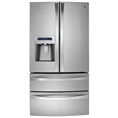 kenmore elite 31 cu ft door refrigerator kenmore elite 72183 31 0 cu ft dual freezer