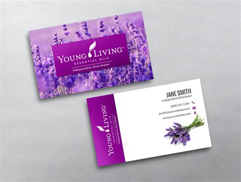 living business card template living business card 10
