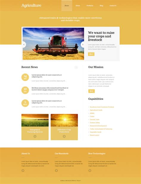 theme wordpress agriculture 15 premium agriculture wordpress themes