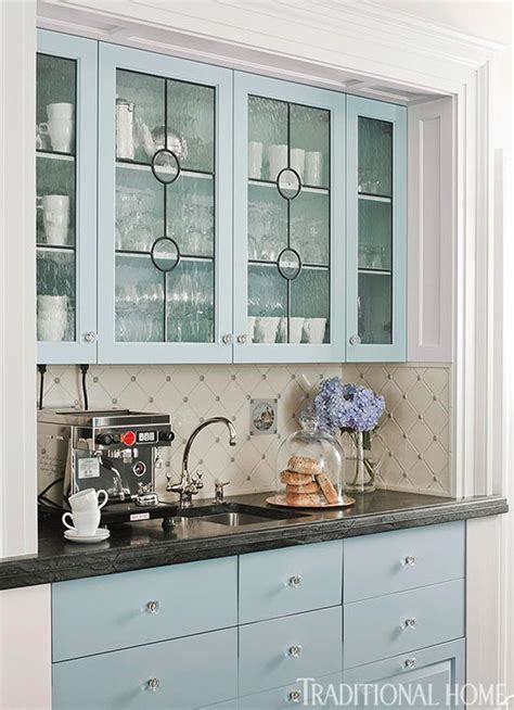 Glass Door Cabinets For Kitchen Distinctive Kitchen Cabinets With Glass Front Doors Traditional Home
