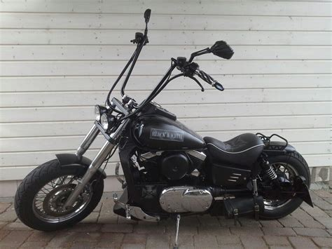 Motorrad Hinterrad Umbau by Kawasaki Vn 1500 Bobber Umbau 200er Hinterrad Als Chopper