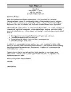 cover letter sle sales leading professional sales representative cover letter