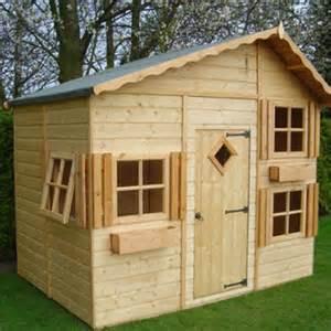 Wooden Wendy House Plans Wooden Playhouses With Loft Studio Design Gallery Best Design