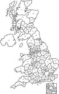 map of post geography uk postcode map