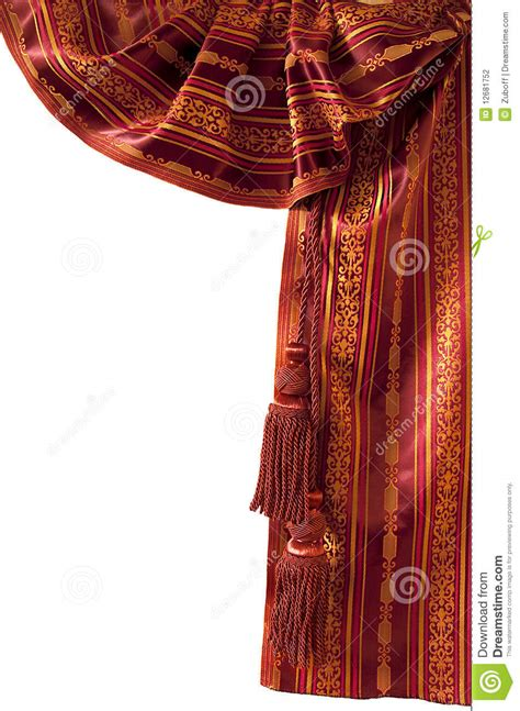 oriental curtains red oriental curtain stock photography image 12681752