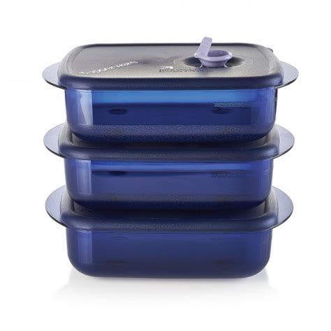 Tupperware Medium Stay N Stor vent n serve 174 medium shallow set