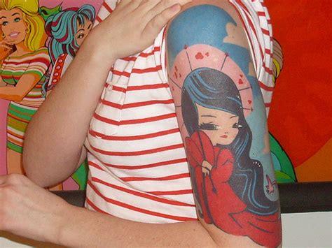 kimono tattoo girl 25 half sleeve tattoos for women