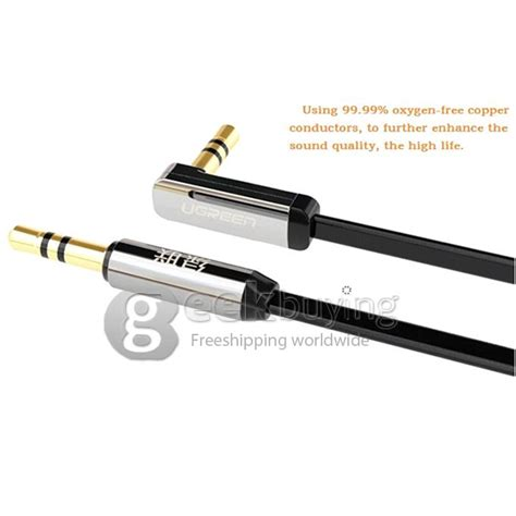 Sale 3 5mm To Flat Audio Cable 2m 2m Ugreen Premium 3 5mm To Audio 90 Flat Cable