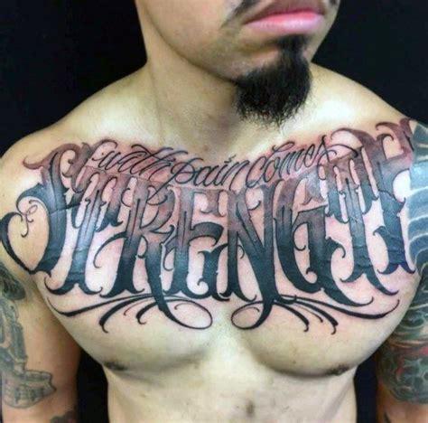 60 st 228 rke tattoos f 252 r m 228 nner masculine wort design ideen