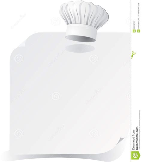 recipe template royalty free stock photography image