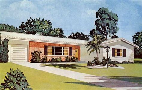 Southern Colonial House Plans small ranch style home exteriors 1960 ranch style house
