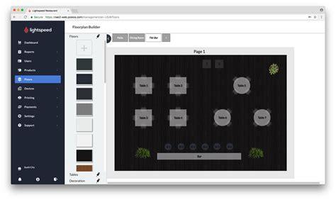 lightspeed restaurant receipt templates creating floors lightspeed restaurant
