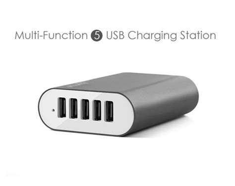 Charger 40w Fast Charging 4 Usb Port A2142621 Olb1792 bakth 40w 5 port usb charger with intelligent ic fast charging