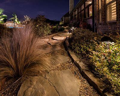 landscape lighting services dallas fort worth plano