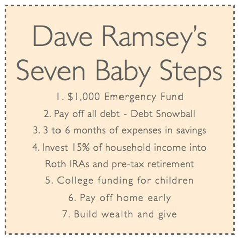 baby s affirmations books 17 best ideas about baby steps on dave ramsey