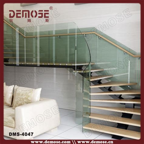 corrimano plexiglass plexiglass stair handrail curved staircase design buy