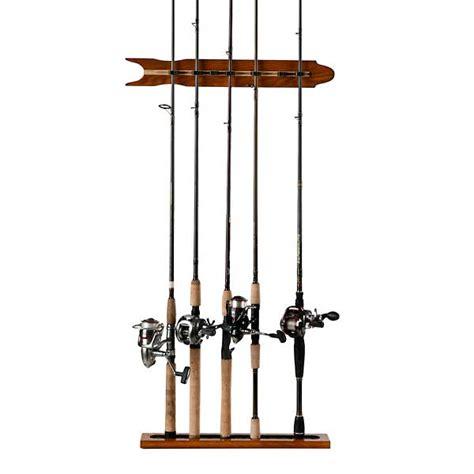 Fishing Rod Racks For Boats by Organized Fishing Modular Wall Rod Rack Oak West Marine
