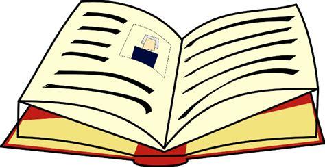 cartoon book images clipart