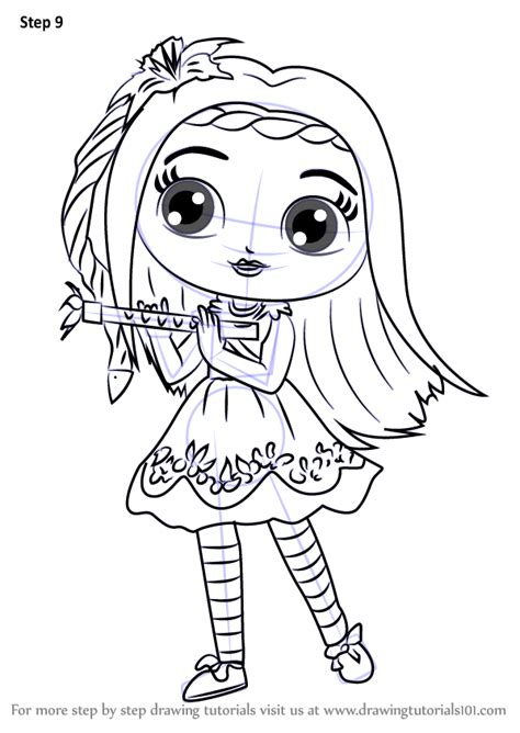 little charmers coloring pages nick jr learn how to draw posie from little charmers little
