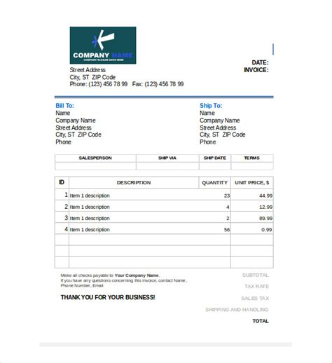 editable invoice template excel search results for free editable invoice templates