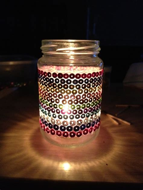 my homemade christmas jam jar lanterns christmas gift