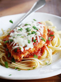 baked chicken parmesan recipe skinnytaste