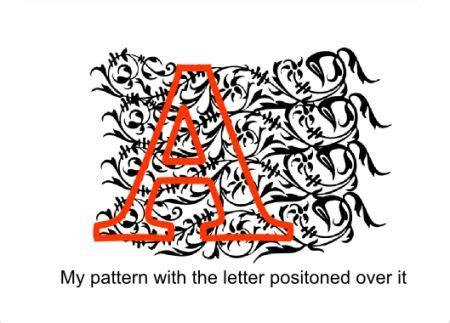 inkscape tutorial vektorgrafik making patterned letters or shapes using inkscape