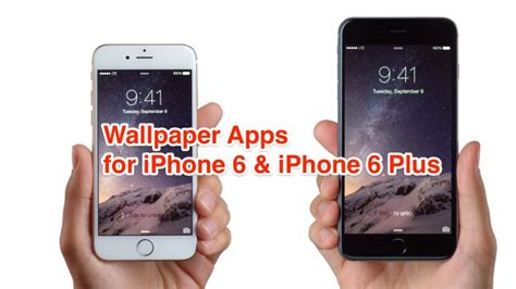 best app for iphone 6 plus best apps to get iphone 6 and iphone 6 plus wallpapers