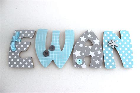 lettre prenom chambre bebe ukbix