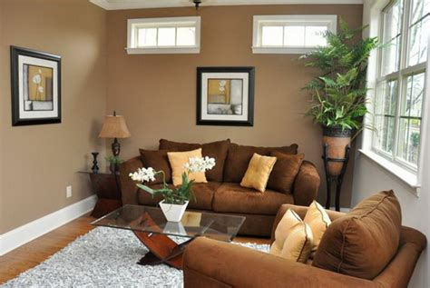 brown walls living room modern living room ideas for smaller room