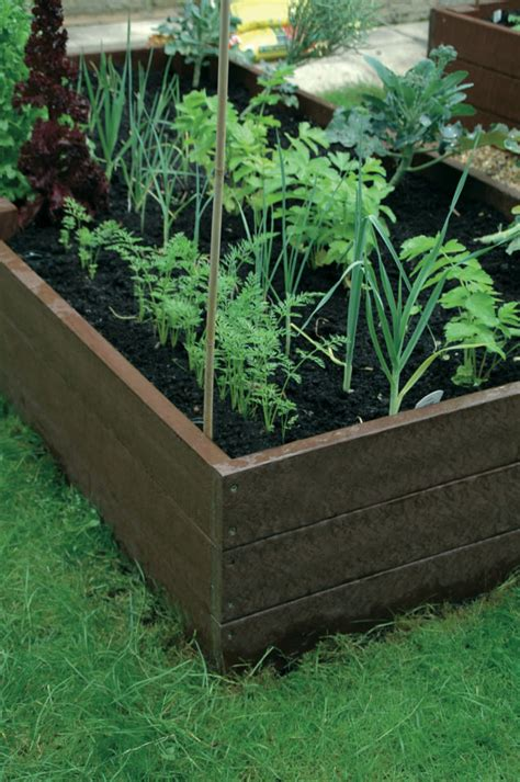 plastic raised garden beds recycled plastic picnic tables planters raised beds