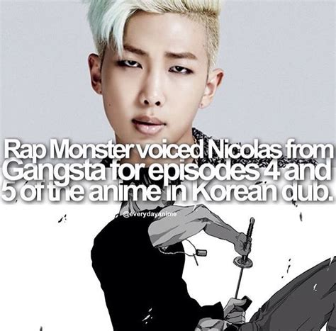 bts facts 365 best rap monster bts kim nam joon images on