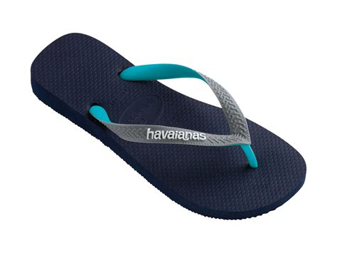 havanas slippers havaianas flip flops top mix navy grey green