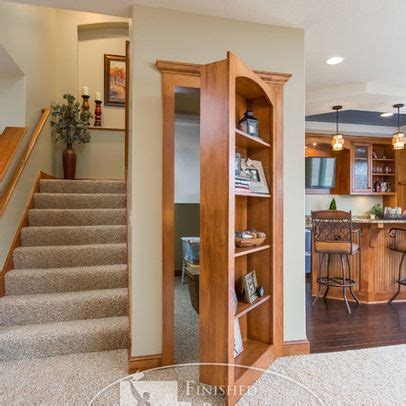 safe room and secure spaces on pinterest bookcase door