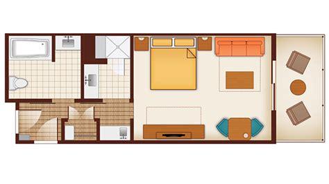 polynesian hotel room layout disney s polynesian village resort dvc rentals