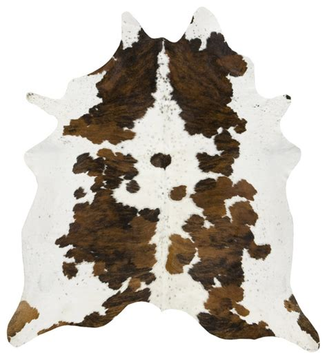 Coloured Cowhide Rugs Tri Color Spotted Cowhide Rug Contemporary Novelty