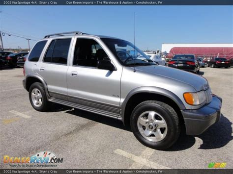 2002 kia sportage 4x4 silver gray photo 6 dealerrevs